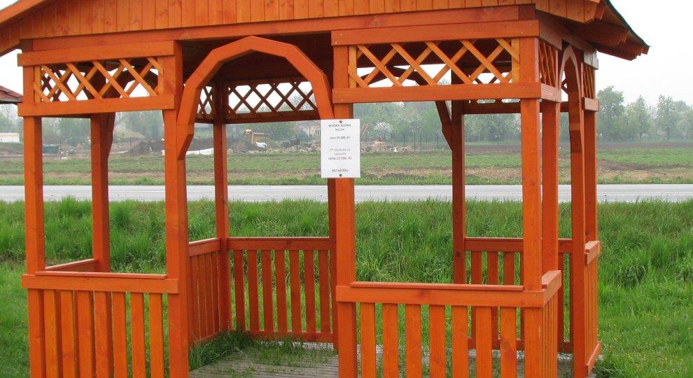 Dřevěná besídka Sezóna - altány, zahradní altán, dřevěné altány, besídka