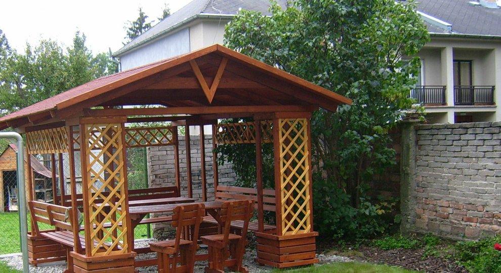 Zahradní altán Besídka 3x3m - altán, zahradní altán, dřevěný altán, dřevěné altány, dřevěné zahradní altány, zahradní altán dřevěný, dřevěný zahradní altán, dřevěné zahradní altány a krytá posezení, altán stavebnice