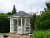 obr. 4 - Varianta 1   Zahradní altán mřížkový 3x3m