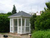 obr. 4 - Varianta 1 | Zahradní altán mřížkový 3x3m