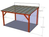 Základní provedení   Zastřešení terasy typ 1